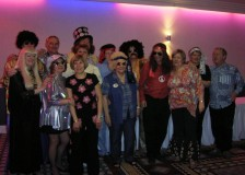 Shirley Lions members and partners celebrate their era - the 70s