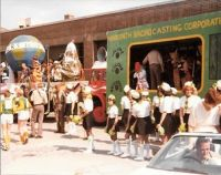 1980 Carnival - Parade getting ready for the off