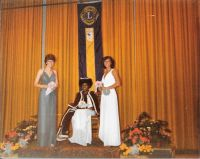 1980 Carnival Queen with Attendants