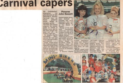 1995 Press cutting