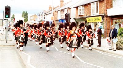 1995 Shirley Pipe band march along the Stratford Road