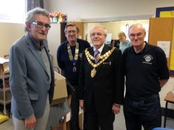 Mr Baxter-Smith, Jeremy, the Mayor & Martin